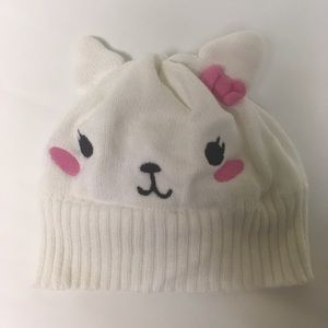 Gymboree Bunny Hat has liner for the little one